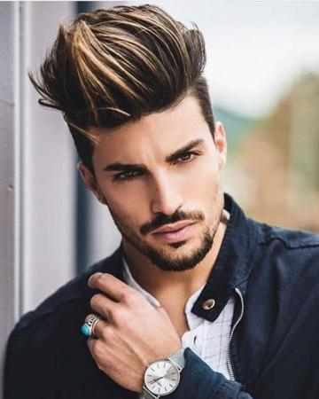 окрашивание мужских волос