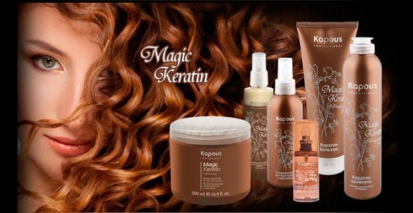 Kapous Professional Hair Keratin Lotion Magic Keratin
